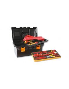 Assortimento di 32 utensili isolati per auto ibride, in cestello plastico con termoformato morbido 2115P L-MQ32