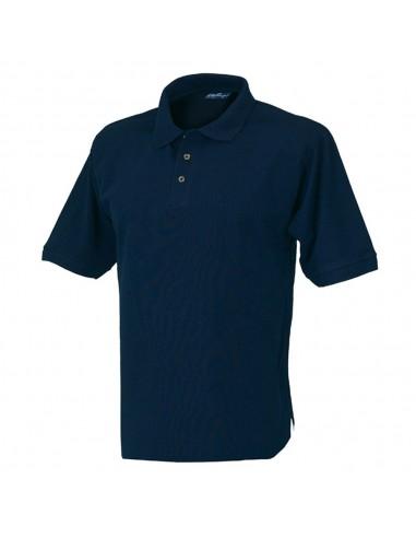 Polo da lavoro Issa Capri manica corta 08185 colore Blu scuro
