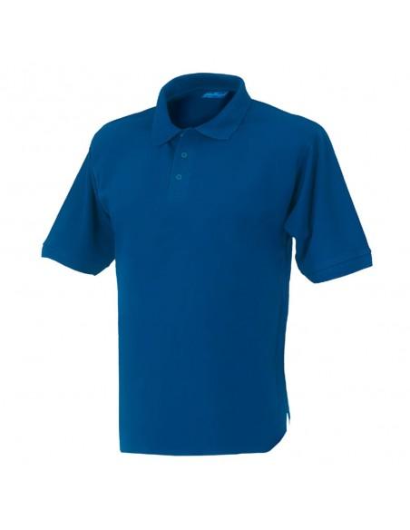 Polo da lavoro Issa Capri manica corta 08185 colore Blu