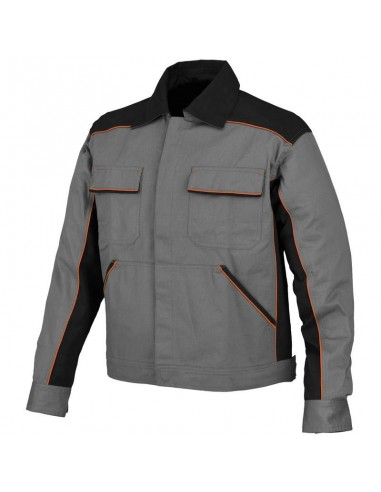 Giubbino da lavoro in cotone Industrial Starter Shot 8945 colore Grigio