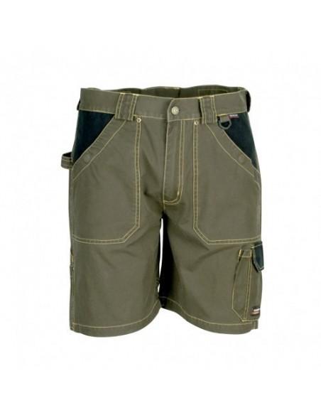 Pantaloncini da lavoro Cofra Saragossa colore Verde Militare