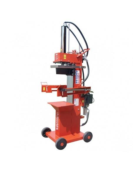 Spaccalegna verticale elettrico Ceccato BULL SPLE13R4 13 tonnellate corsa 500 mm