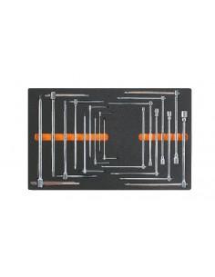 Modulo morbido chiavi a T con tre estremità maschio esagonale e chiavi a T con bussola esagonale M65