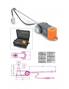 Sollevatore oleopneumatico 20-10T con valigia di trasporto 3065/20-10T