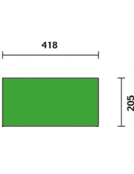 Trolley portautensili a 2 moduli sovrapponibili C41H
