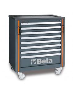 Modulo cassettiera mobile con 8 cassetti per arredo officina C55C8