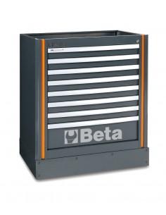 Modulo fisso con 8 cassetti per arredo officina C55M8