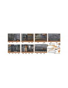 Assortimento di 212 utensili per autoriparazione in moduli rigidi 5908VG/2T
