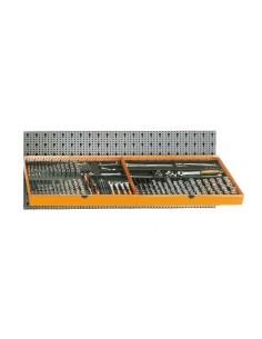 Assortimento 329 utensili, con ganci senza pannello 6600 M/112