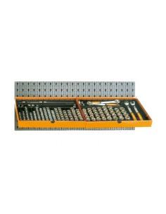 Assortimento 163 utensili, con ganci senza pannello 6600 M/120
