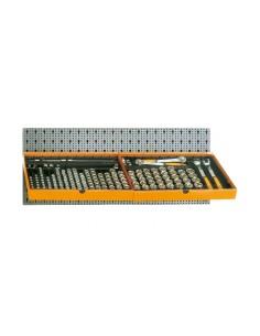 Assortimento 133 utensili, con ganci senza pannello 6600 M/125