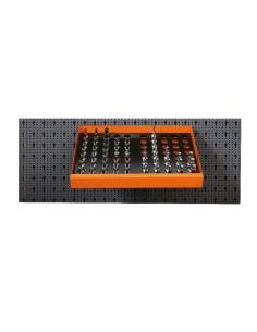 Assortimento 58 utensili, con ganci senza pannello 6600 M/126