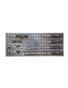 Assortimento 13 utensili, con ganci senza pannello 6600 M/174