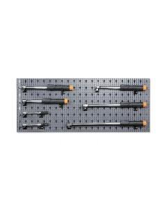 Assortimento 12 utensili, con ganci senza pannello 6600 M/175