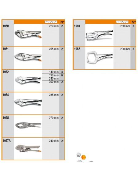 Assortimento 31 utensili, con ganci senza pannello 6600 M/236
