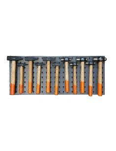 Assortimento 43 utensili, con ganci senza pannello 6600 M/422