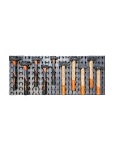 Assortimento 29 utensili, con ganci senza pannello 6600 M/423