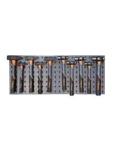 Assortimento 36 utensili, con ganci senza pannello 6600 M/424