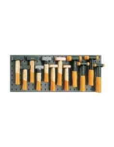 Assortimento 24 utensili, con ganci senza pannello 6600 M/427