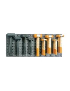 Assortimento 29 utensili, con ganci senza pannello 6600 M/430