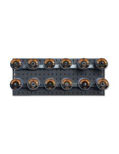 Assortimentodi120 dischi abrasivi lamellari congancisenzapannello 6600 M/871