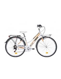 """City bike Atala®, telaio in alluminio, cambio shimano® 6 velocita', freni V-Brake® cerchi in alluminio 28"""" 9599CB-W"""
