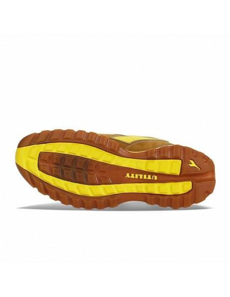 Scarpe antinfortunistiche Diadora Glove II S3 Marrone chiaro