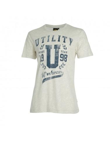 Maglietta t-shirt da lavoro SS Graphic Diadora Grigio