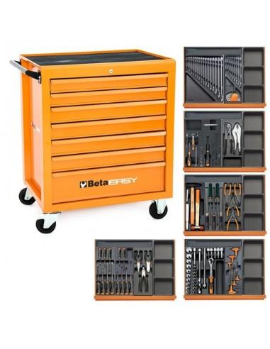 Cassetta Attrezzi Beta Easy C04 + 181 utensili Industria edilizia