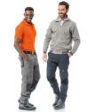 Pantalone da lavoro Issa Line Stretch ON multitasche